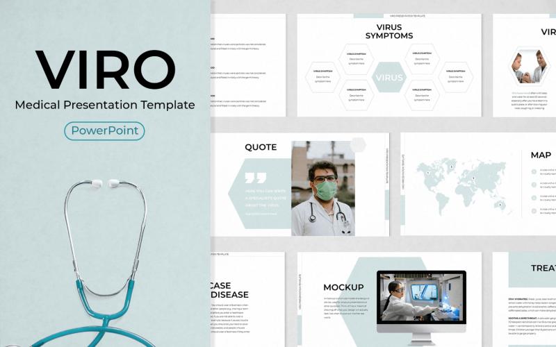 Plantilla de PowerPoint - presentación médica