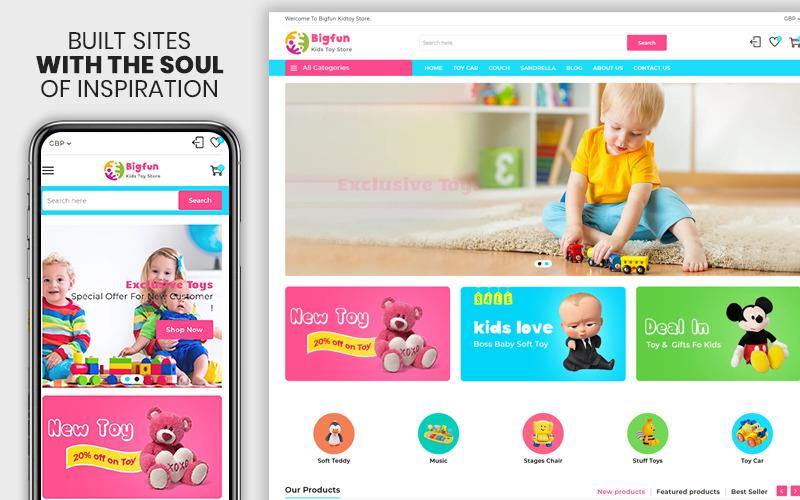 Big Fun - The Kids Toy Store Shopify Theme
