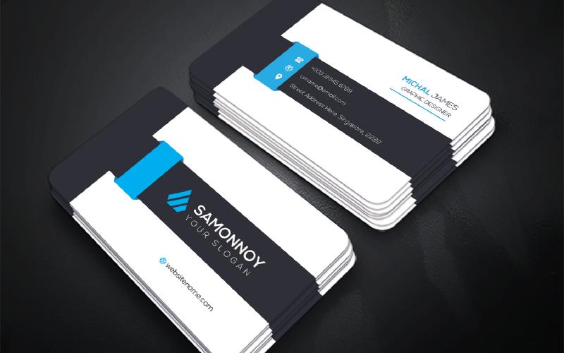 Creative Business Card - Plantilla de identidad corporativa