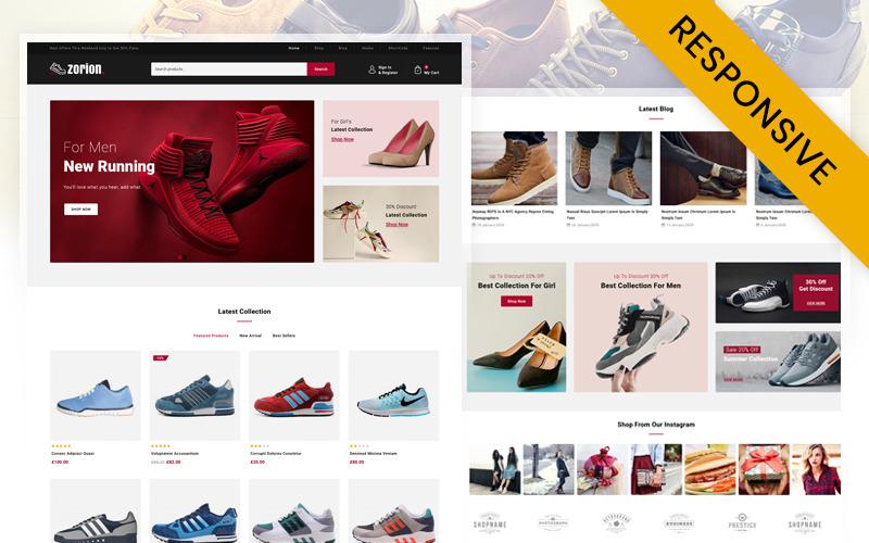 Zorion-在线鞋店WooCommerce主题