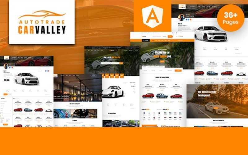 Carvalley   Auto Trade & Listing Directory Angular Website Template