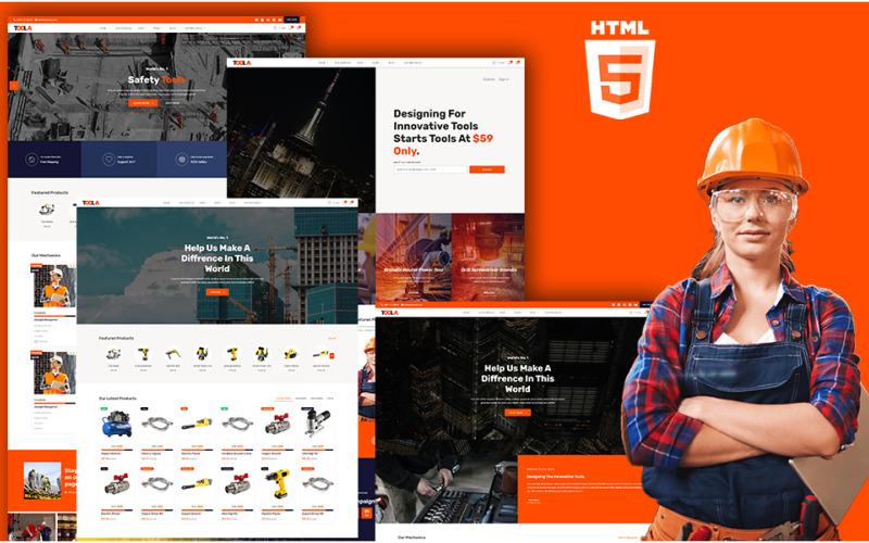 TOOLA - Engineer Hiring Portal HTML5 Website Template