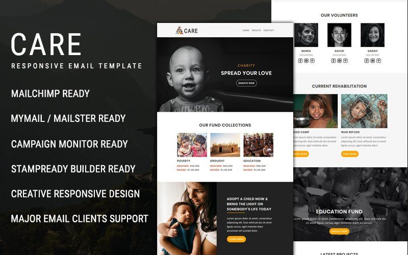 Care - Email Newsletter Template