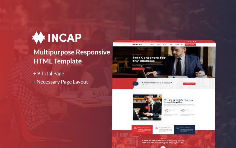 Incap - Multipurpose Responsive HTML Website Template