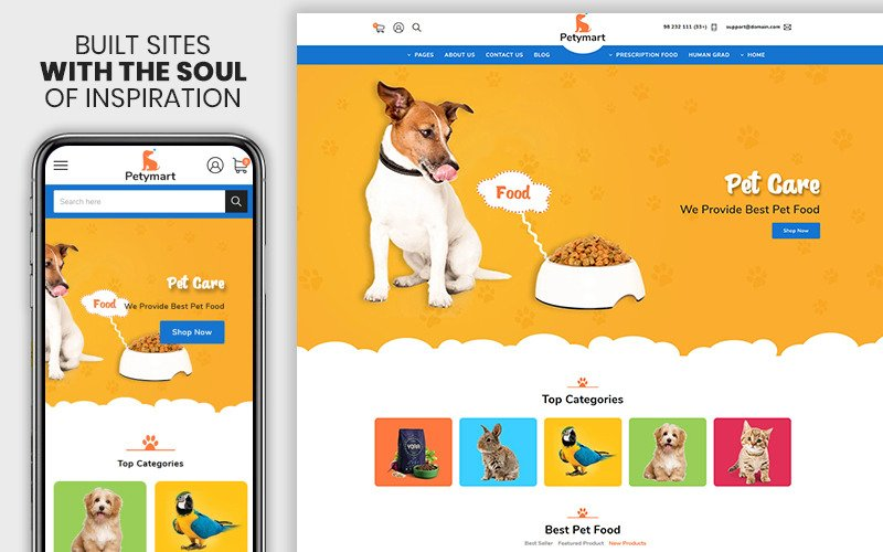 Petymart - The Pet & Animals Responsive Shopify Theme