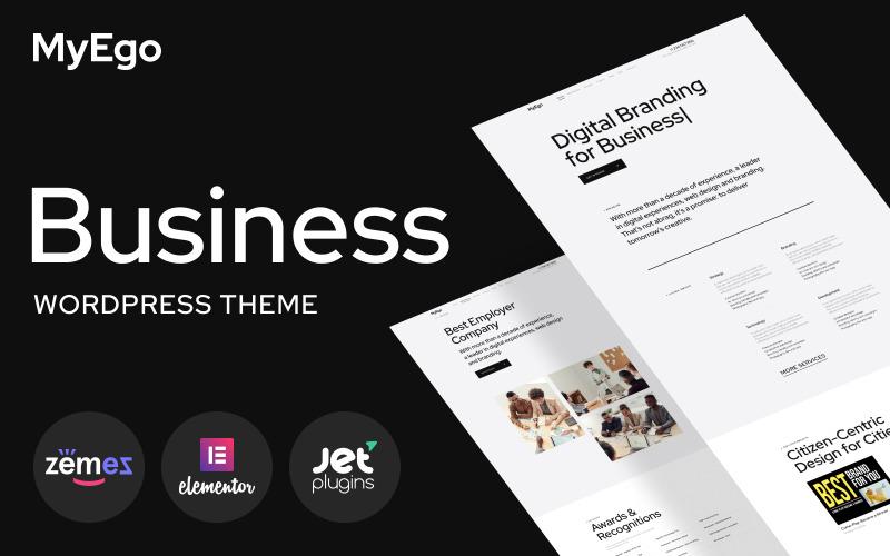 MyEgo - тема WordPress для бизнес-сайтов