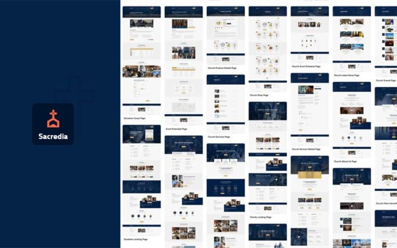 Sacredia | Church WordPress Theme