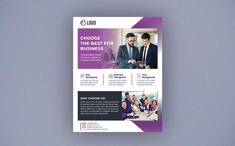 Business Flyer Design - Corporate Identity Template