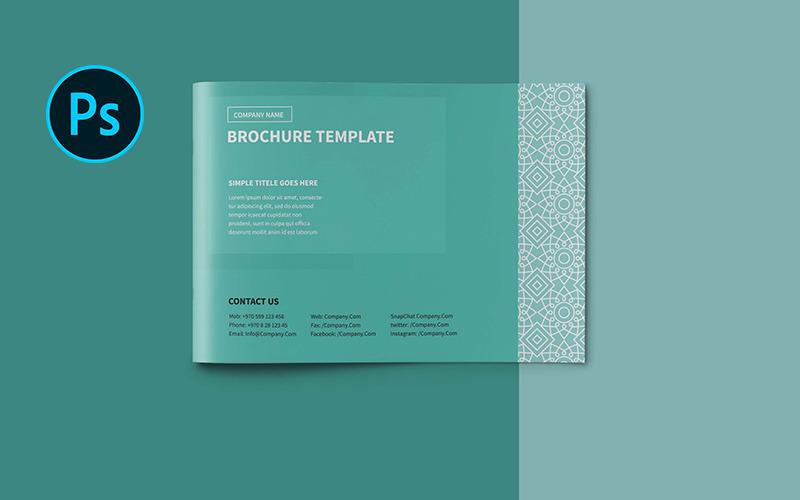 Многоцелевая брошюра A5 - Шаблон фирменного стиля