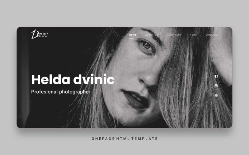 Dvinic - Multipurpose Html Portfolio Landing Page Template
