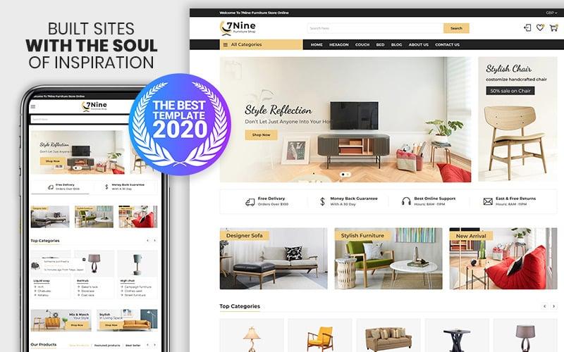 7nine - Das Premium Shopify-Thema für Möbel und Innenausstattung