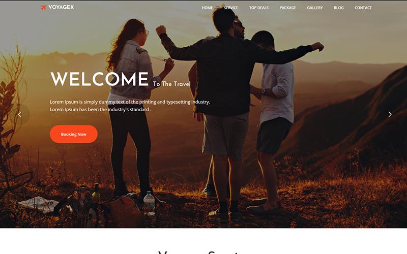 Voyagex – Tour and Travel Agency WordPress Theme