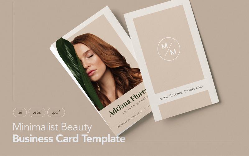Визитная карточка профессионала и красоты V.5 - Шаблон фирменного стиля