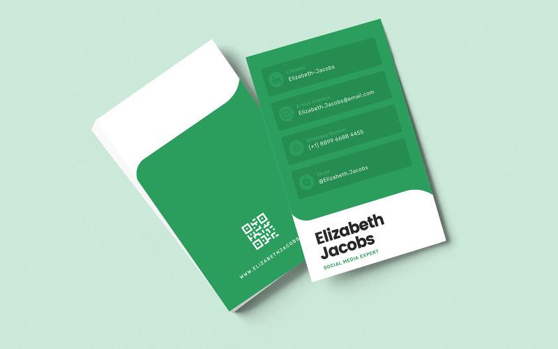 Business Card v32 - шаблон фирменного стиля