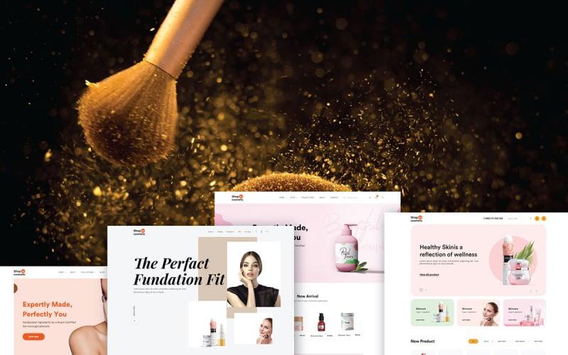 Cosmeto - Beauty & Cosmetics store HTML Website Template