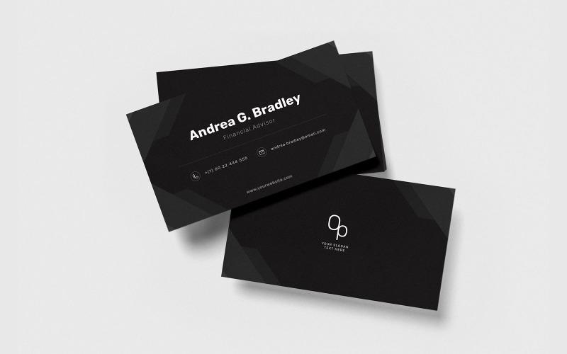 Профессиональная визитка v63 - Шаблон фирменного стиля