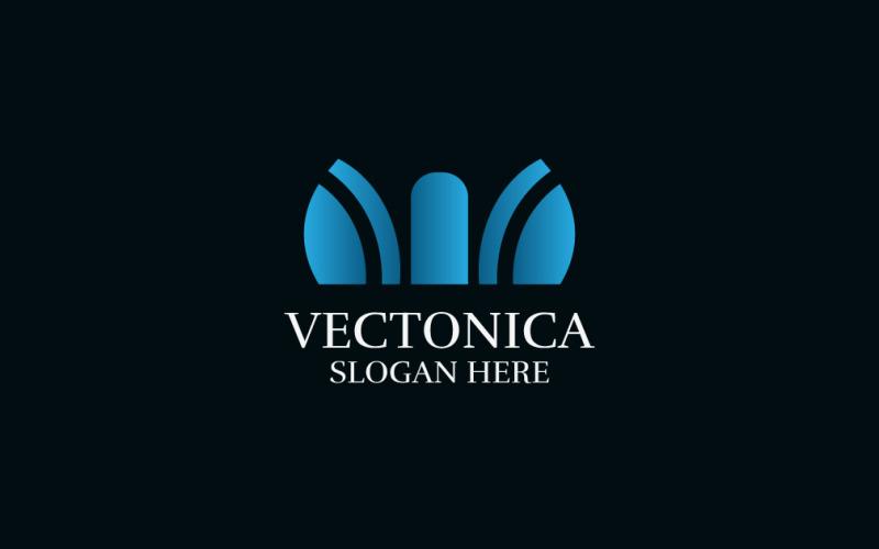 Firemní obchodní společnost Logo šablona
