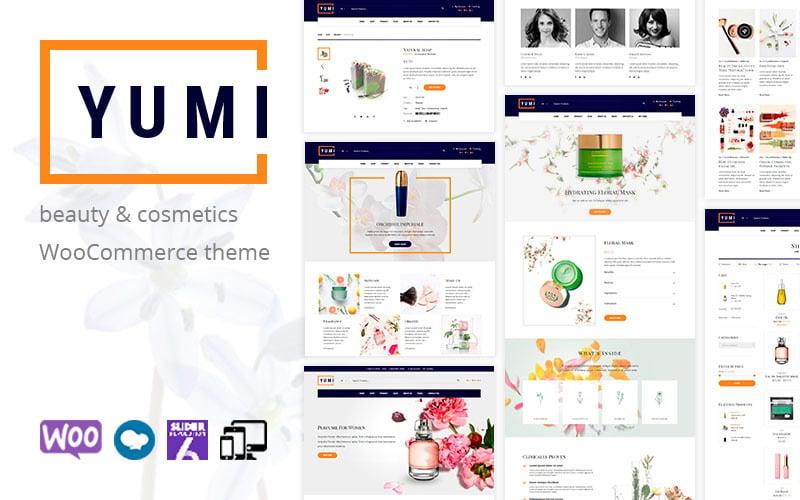 Yumi - beauty & cosmetics WooCommerce Theme