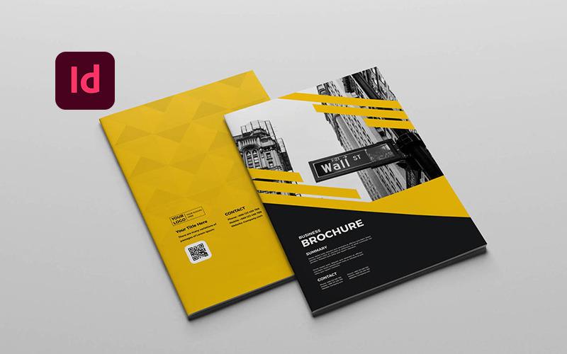 Бизнес-брошюра - Шаблон фирменного стиля