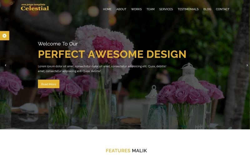 Malik - Digital Agency HTML Landing Page Template