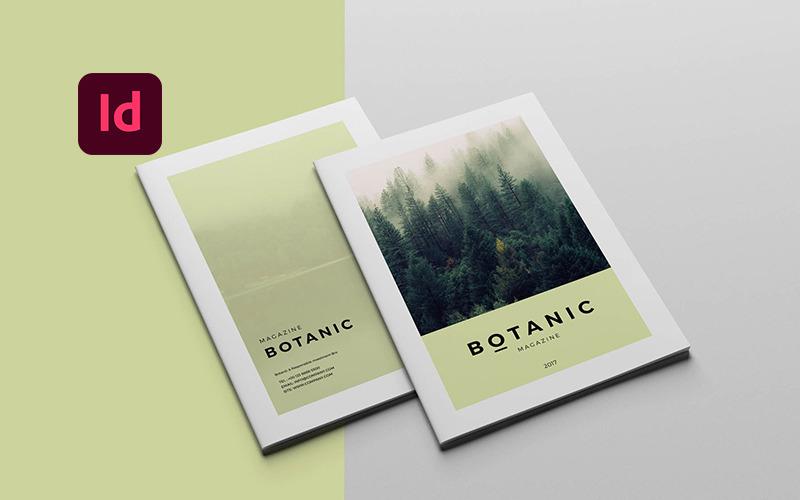 Шаблон ботанического журнала