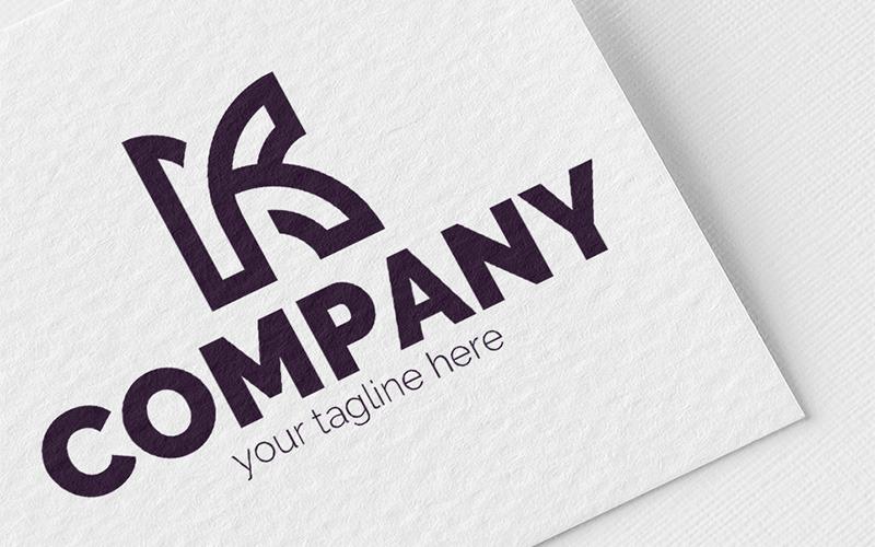 Elegant letter K Logo Template