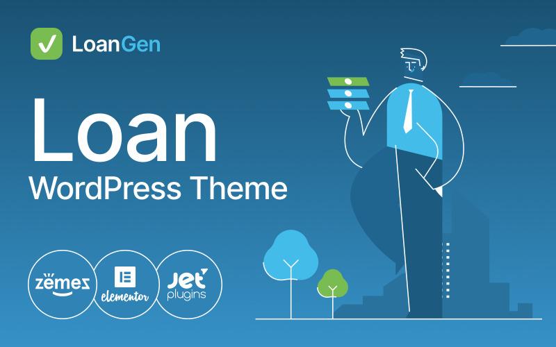 LoanGen - Loan WordPress Theme