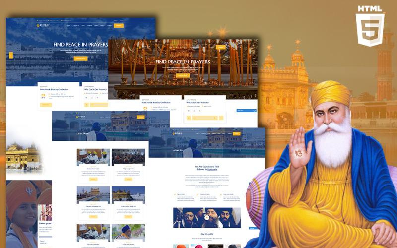 Singh - Sikh HTML Website Template