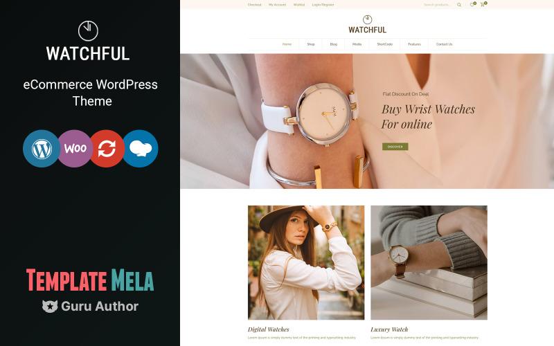 Watchful - Tema WooCommerce de la tienda de relojes