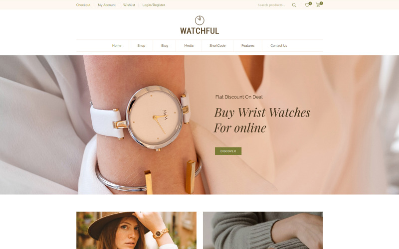 Watchful - Watch Store WooCommerce Teması