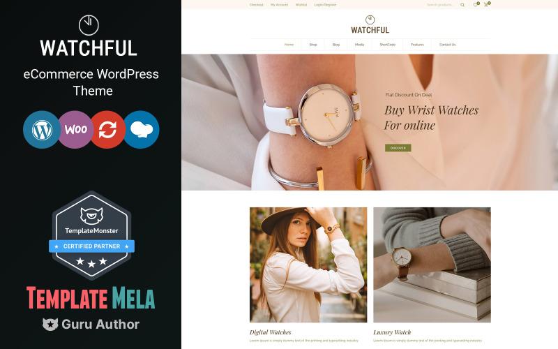 Watchful - Watch Store WooCommerce Theme
