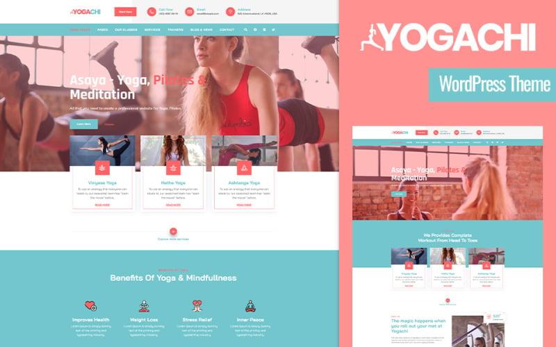 Yogachi - тема WordPress для йоги и фитнеса