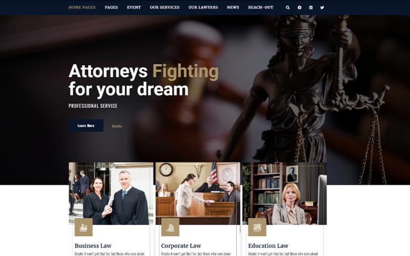 Courtia - Tema WordPress per legge e CA.