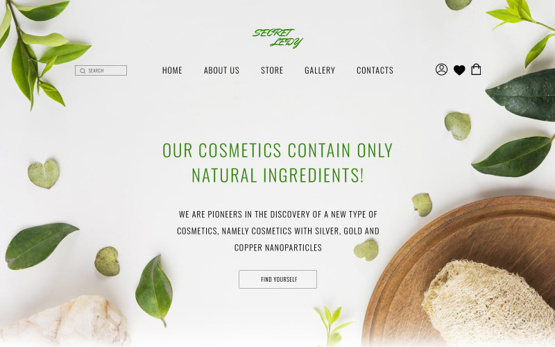 Beautikind - E-commerce HTML5 Website Template