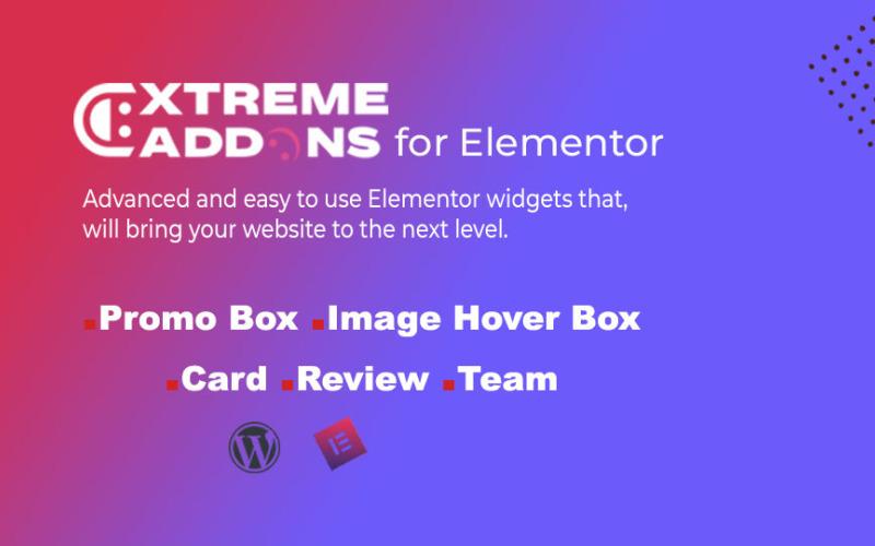 Extreme add-ons voor Elementor Simple Widgets WordPress-plug-in