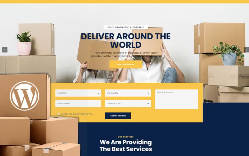 Nescobee - тема WordPress для Movers