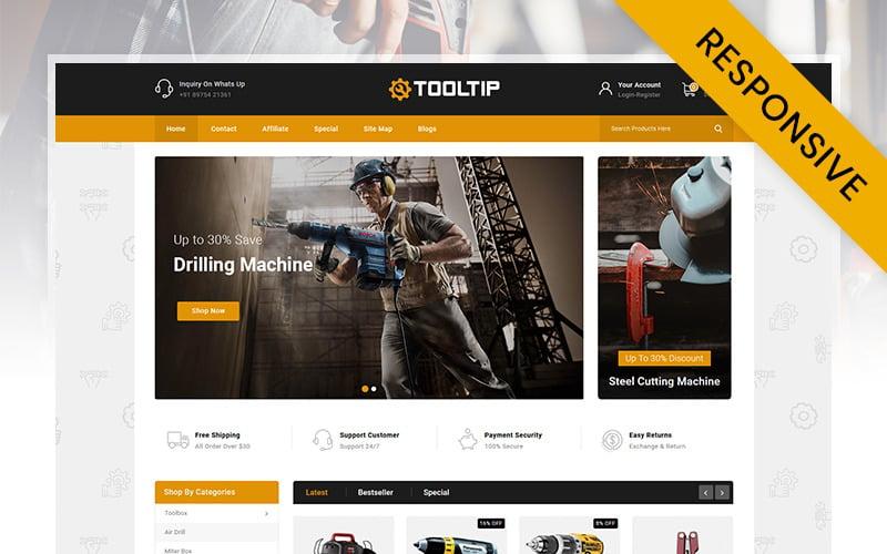 Tooltip - HandTools Store OpenCart Template