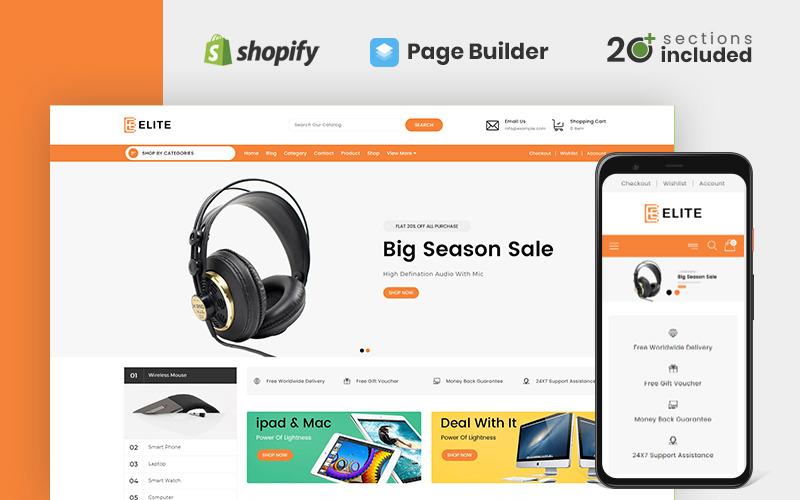 Elite Electronics Store Shopify Theme