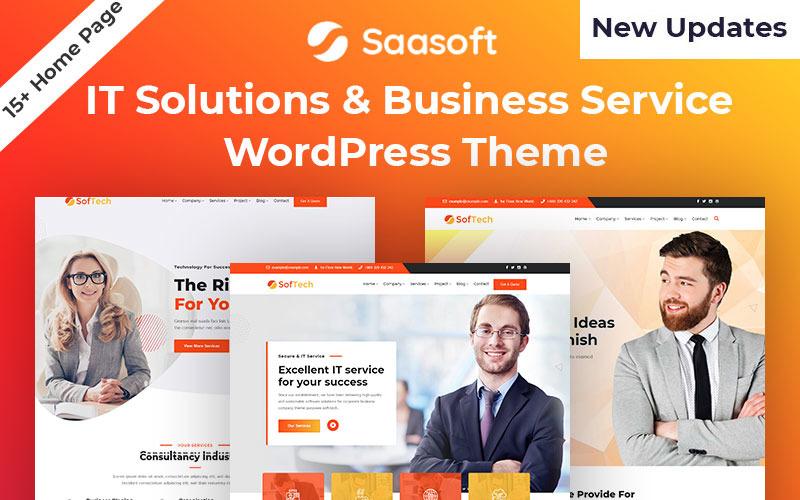 Softech - Thème WordPress pour solution informatique et service aux entreprises