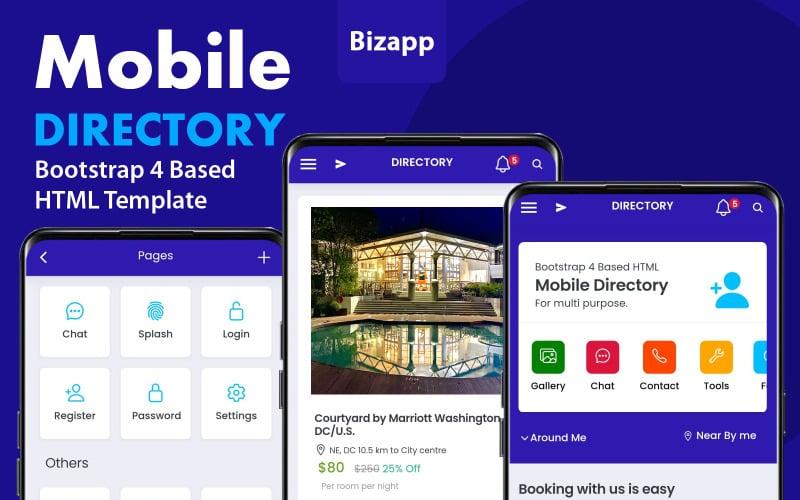 Html Mobile App for Multi Purpose App Template