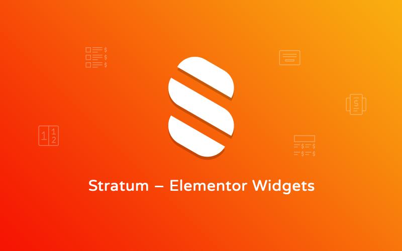 Stratum - Complemento de WordPress Elementor Extras
