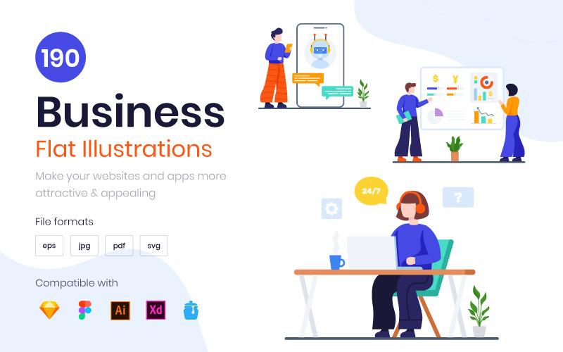 Бизнес - Иллюстрация