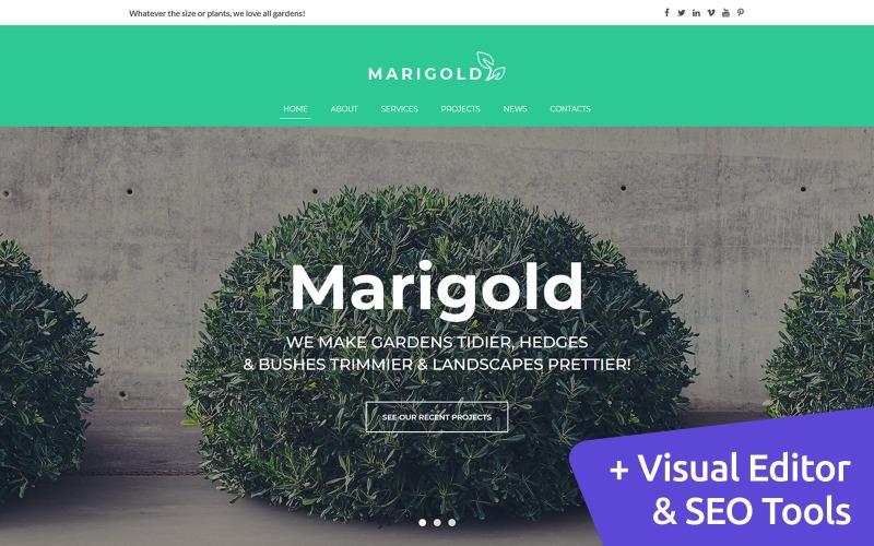 Marigold - Modello Moto CMS 3 per servizi paesaggistici