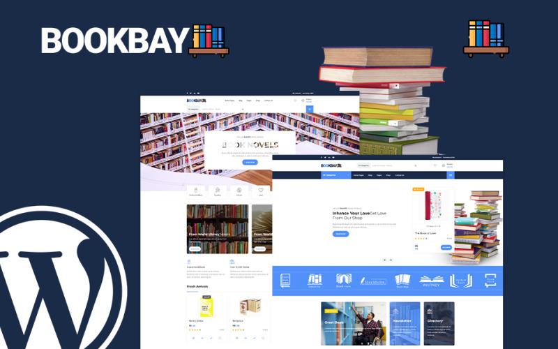 Bookbay - Book Shop WordPress Theme