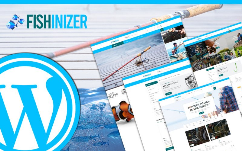 Fishinizer | Fishing & Marine Accessories WordPress Theme
