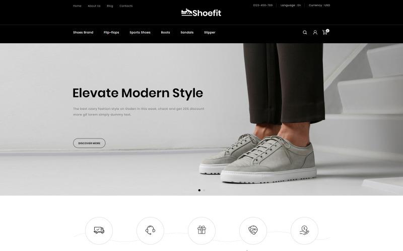 Shoefit-鞋子和时尚配饰商店PrestaShop主题