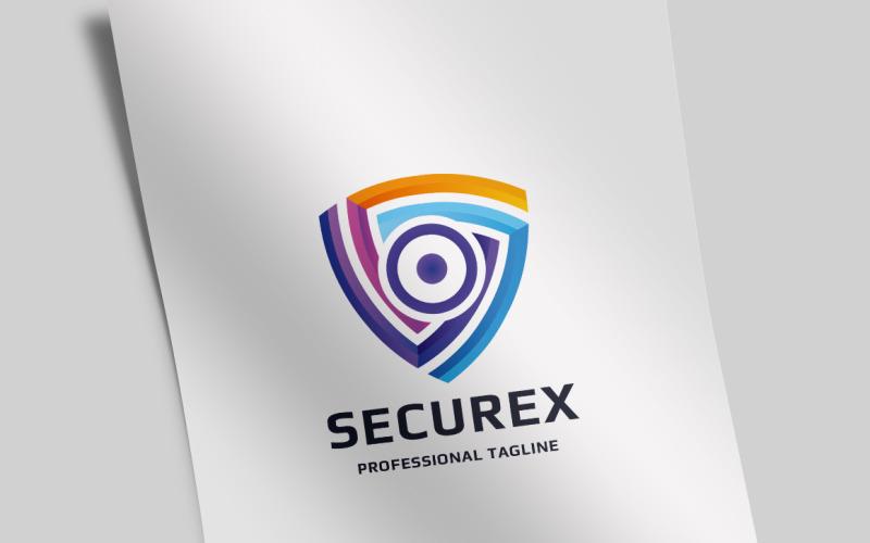 Шаблон логотипа Power Secure