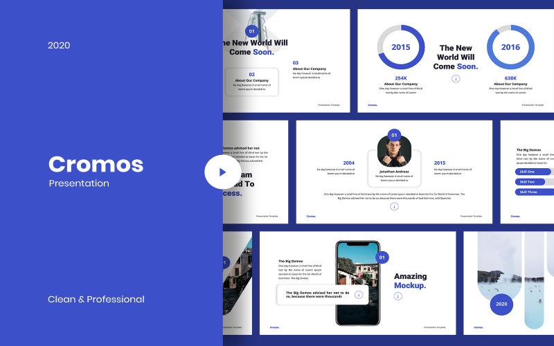 Cromos - Moderne Google-dia's