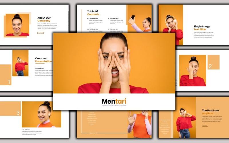 Mentari - Skönhetspresentation Google Slides