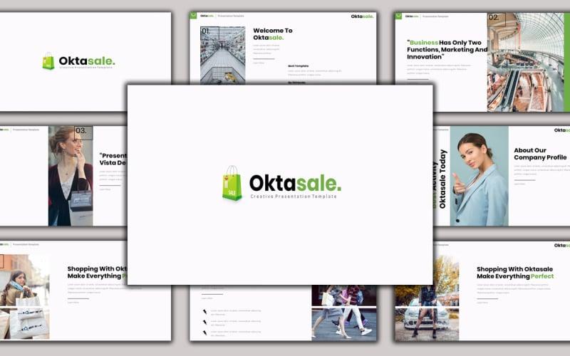 Oktasale - Creative Business Google Slides